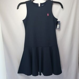Polo Ralph lauren navy blue skater dress